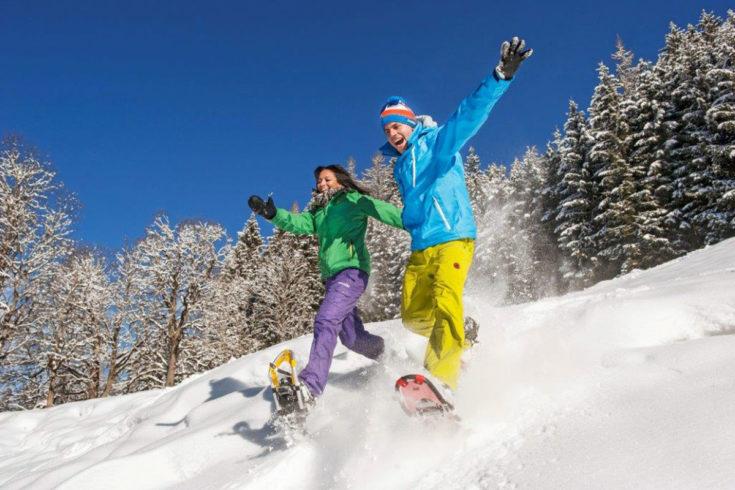 Wintersport abseits der Pisten in Zauchensee